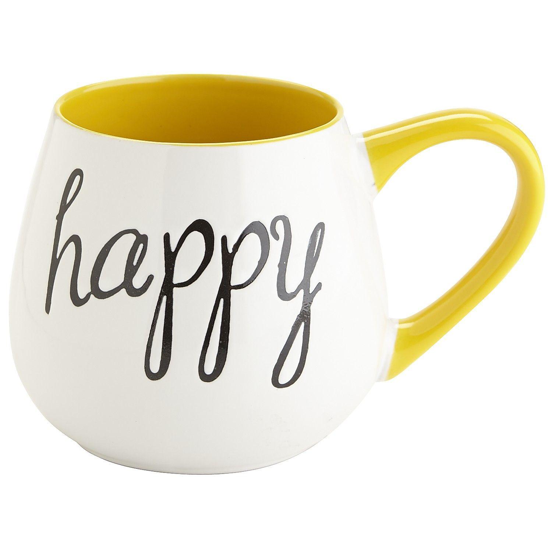 Happy Mug Cute Coffee Mugs Mugs Coffee Mugs
