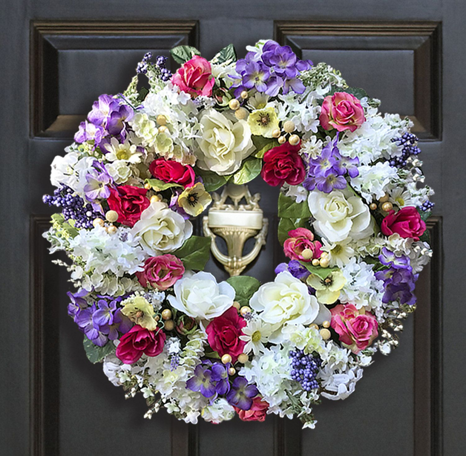 Beautiful Wreaths | Spring Wreaths | Floral Wreaths | Colorful Wreaths | Front  Door Wreaths By