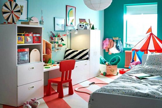 من كتالوج ايكيا أروع تصاميم غرف نوم أطفال ايكيا وغرف أطفال حديثة ديكورات أرابي White Bedroom Furniture Uk Childrens Bedroom Furniture Kids Bedroom Furniture