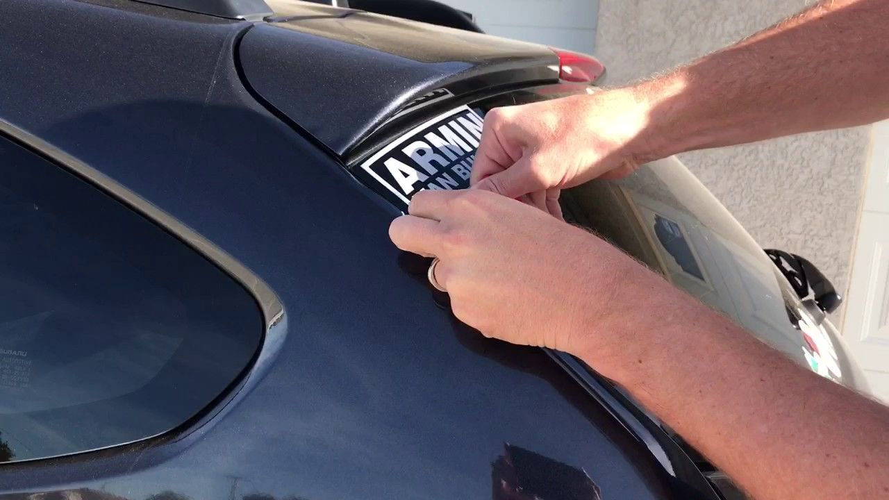 How to easily remove stickers decals off glass windows