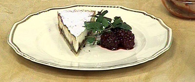 Crostata di ricotta e cioccolato (Tarta de ricotta y chocolate)