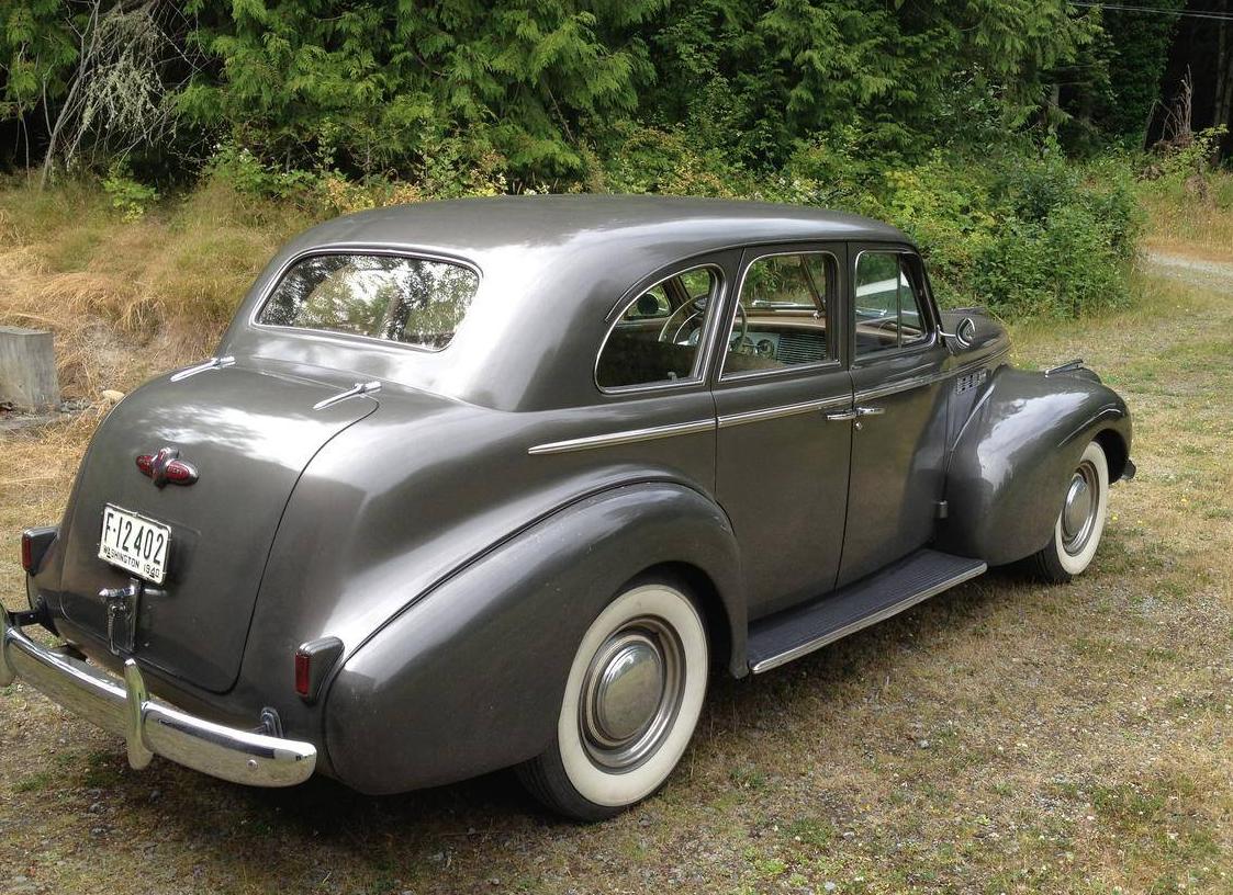1940 buick super sedan