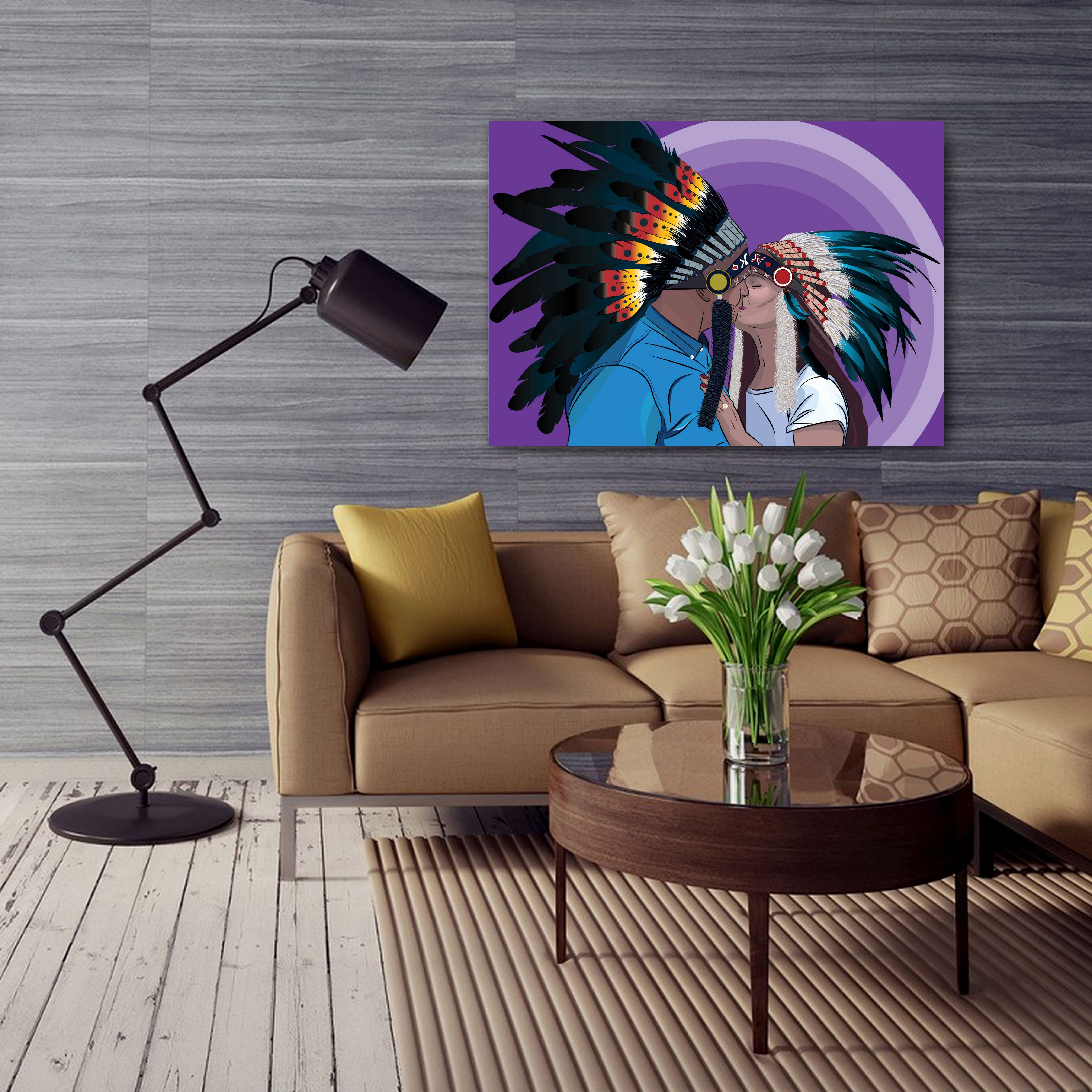 If You Want Unique And Colorful Art Print On Your Wall