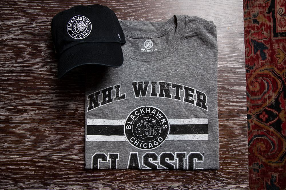 ce5a0570e89 You can t go wrong with this  WinterClassic cap and tee! 🧢👕❄ - Men s  Fanatics Grey Short Sleeve Tee ( 34) -  47 Adjustable Clean Up Cap ( 25)  Available ...