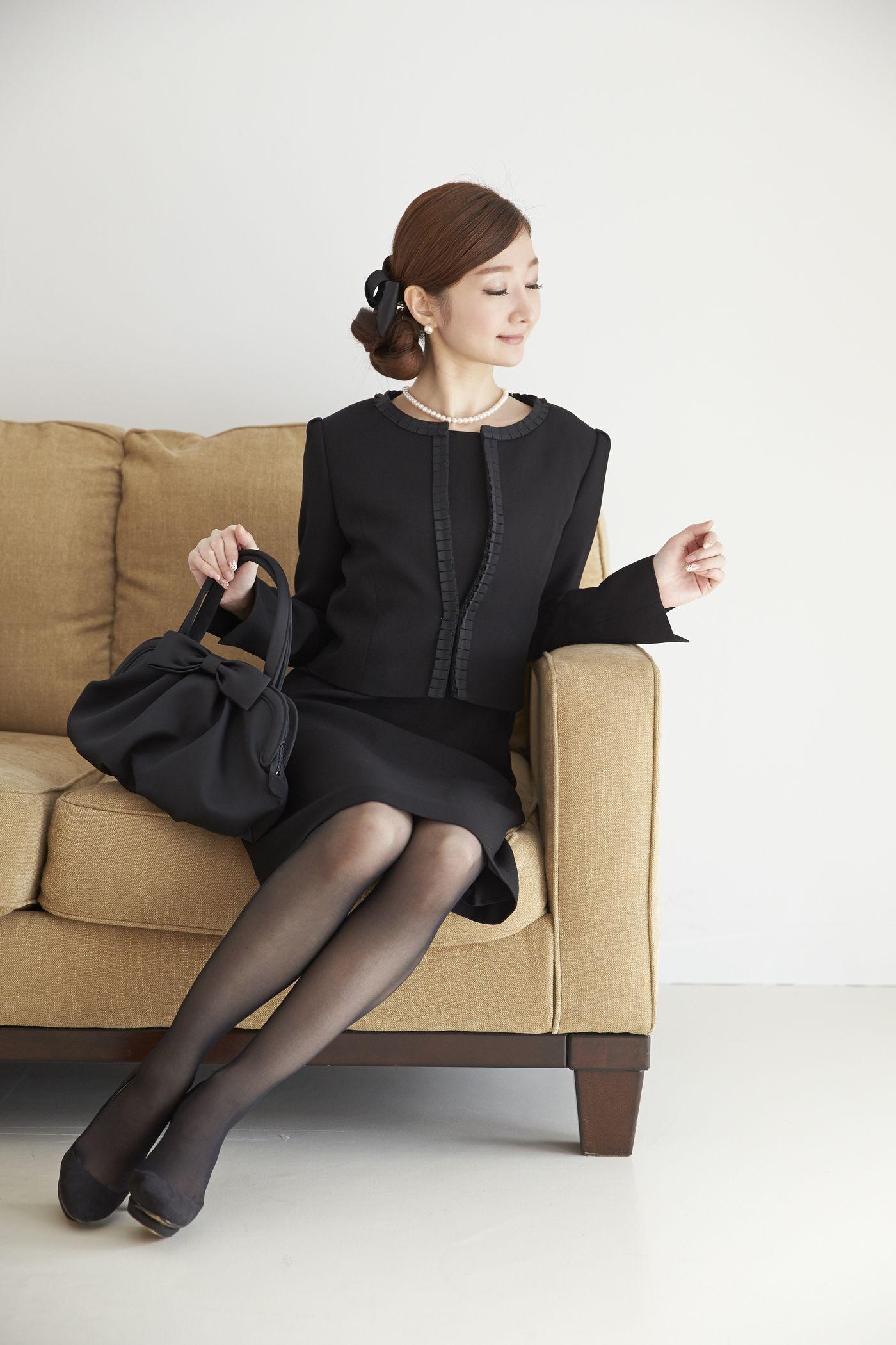ensemble http www monoir jp product item fx4f002a asp 喪服 礼服 フォーマルウェア専門のファッションサイト monoir モノワール です 礼服 レディース 喪服 女性 喪服 レディース