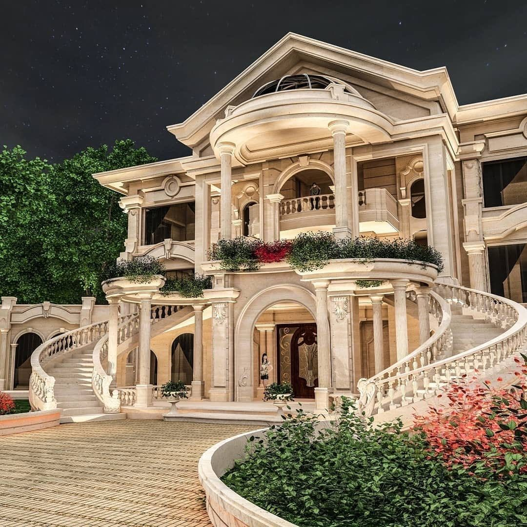 Luxury Houses And Mansions On Instagram What Do You Think Of This Grand Design Via Onlyforluxury By Mani Mansions Beautiful House Plans Mansions Luxury