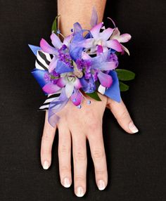 Posh purple orchids prom corsage in coral springs fl hearts posh purple orchids prom corsage in coral springs fl hearts flowers of coral mightylinksfo