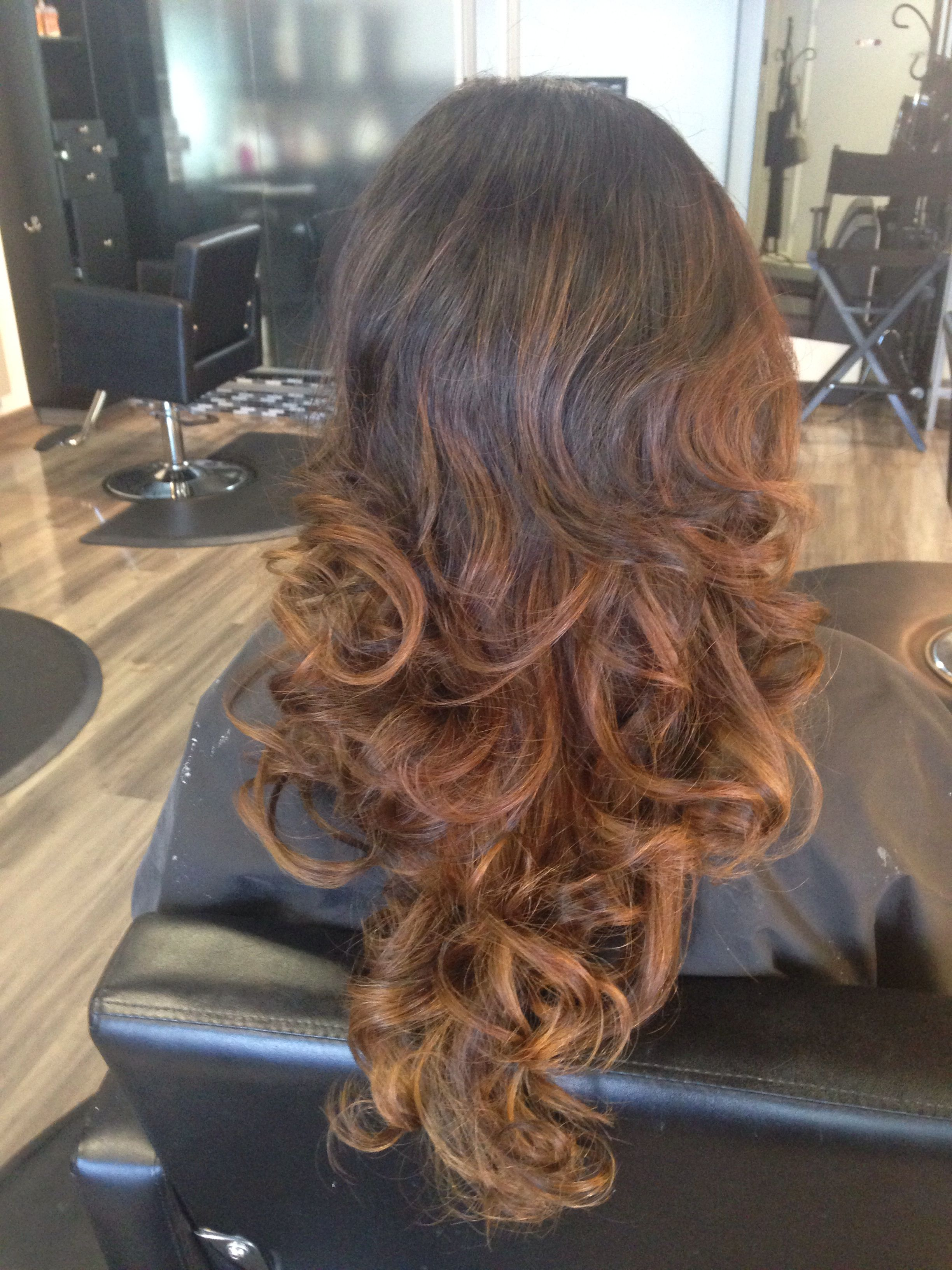 Ombré, hair by Angel Delao