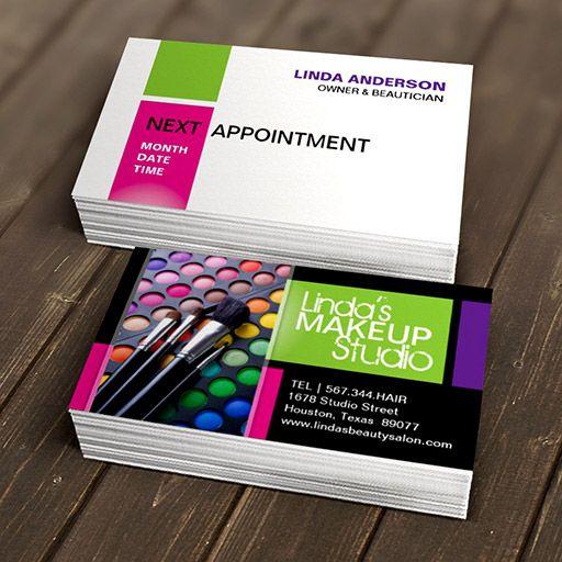 Stylish Beauty Salon Business Card Template Zazzle Com Salon Business Cards Beauty Salon Business Cards Salon Business