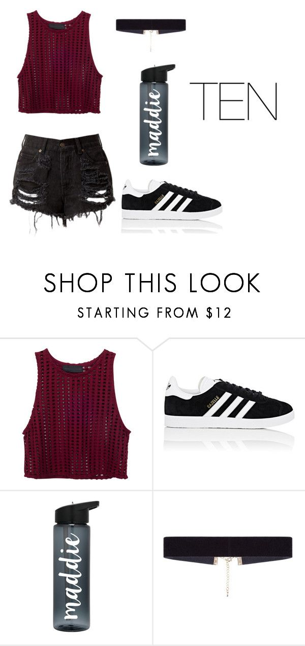 """""""Seventeen"""" by vieen ❤ liked on Polyvore featuring adidas and 8 Other Reasons"""
