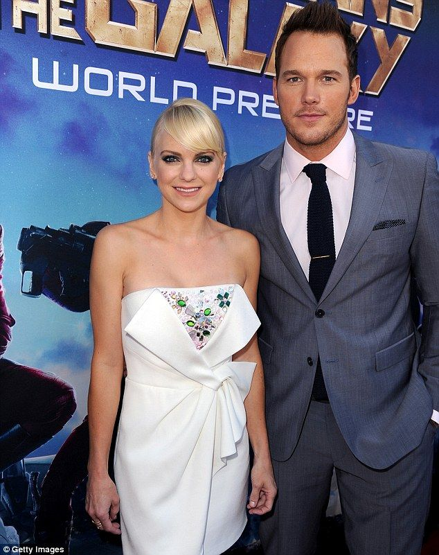 Anna faris and chris pratt hollywood couples pinterest anna faris and chris pratt junglespirit Image collections