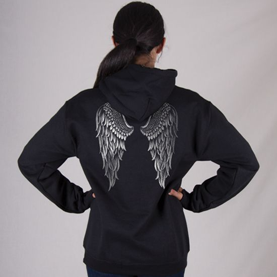 Country Girl Angel Wings Women/'s Hoodie Sweatshirt