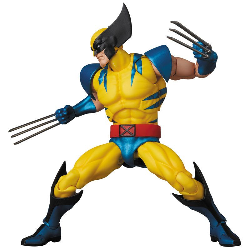 Mafex No 096 Mafex Wolverine Comic Ver X Men Action Figure Wolverine Comic Wolverine Decorations Wolverine