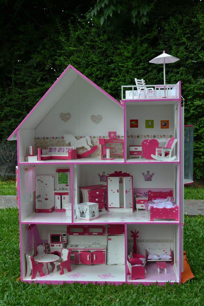 Resultado De Imagem Para Casita De Mu Ecas Projetos Para  # Muebles Fibrofacil Para Casa Munecas