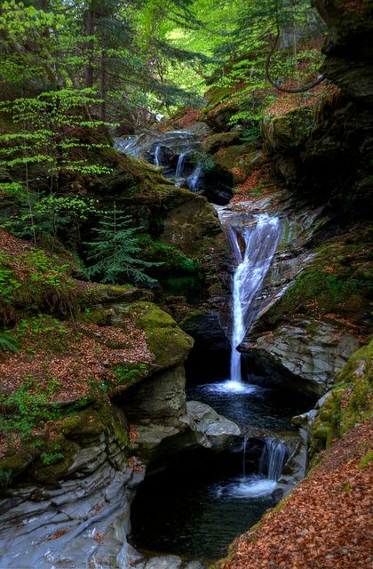 Falls of Acharn, Kenmore/Loch Tay, Perthshire, Scotland