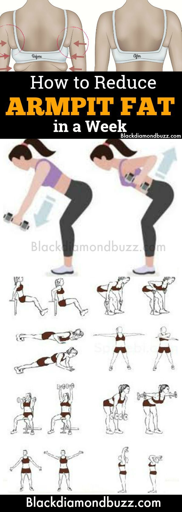 How To Get Rid Of Armpit Fat With Weights