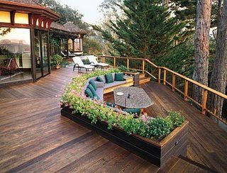 Wonder If The Deer Would Still Get To These Plants. Would Make For Great  View. Built In SeatingDeck SeatingOutdoor ...