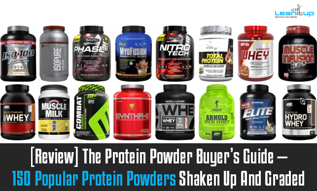 [Review] The Protein Powder Buyer's Guide — 150 Popular ...