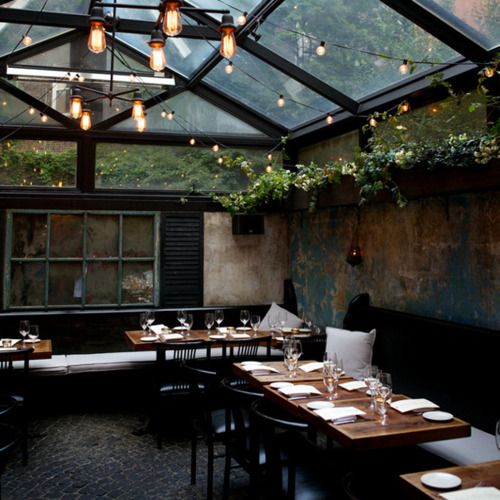 micasaessucasa August Restaurant  NYC  Make your home