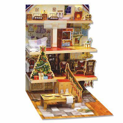 Advent Calendars 156813: The Night Before Christmas Pop-Up Advent Calendar - 3D Holiday Chr ...