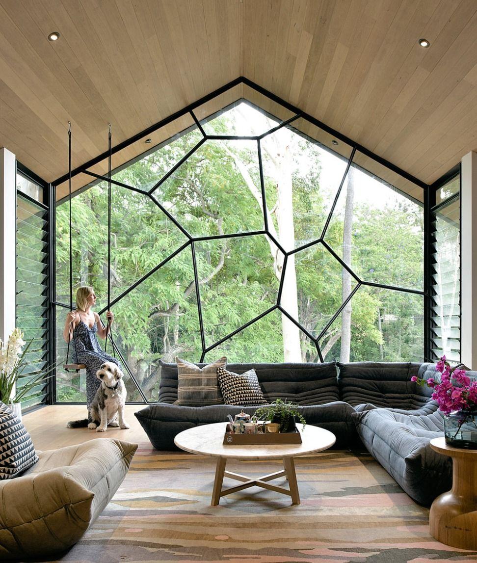 Cozy Living Room Home Interior Design Living Design Contemporary Interior Design