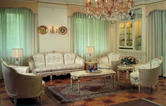 Interior Design Style: French living room ✦ Characteristics: Rich ...