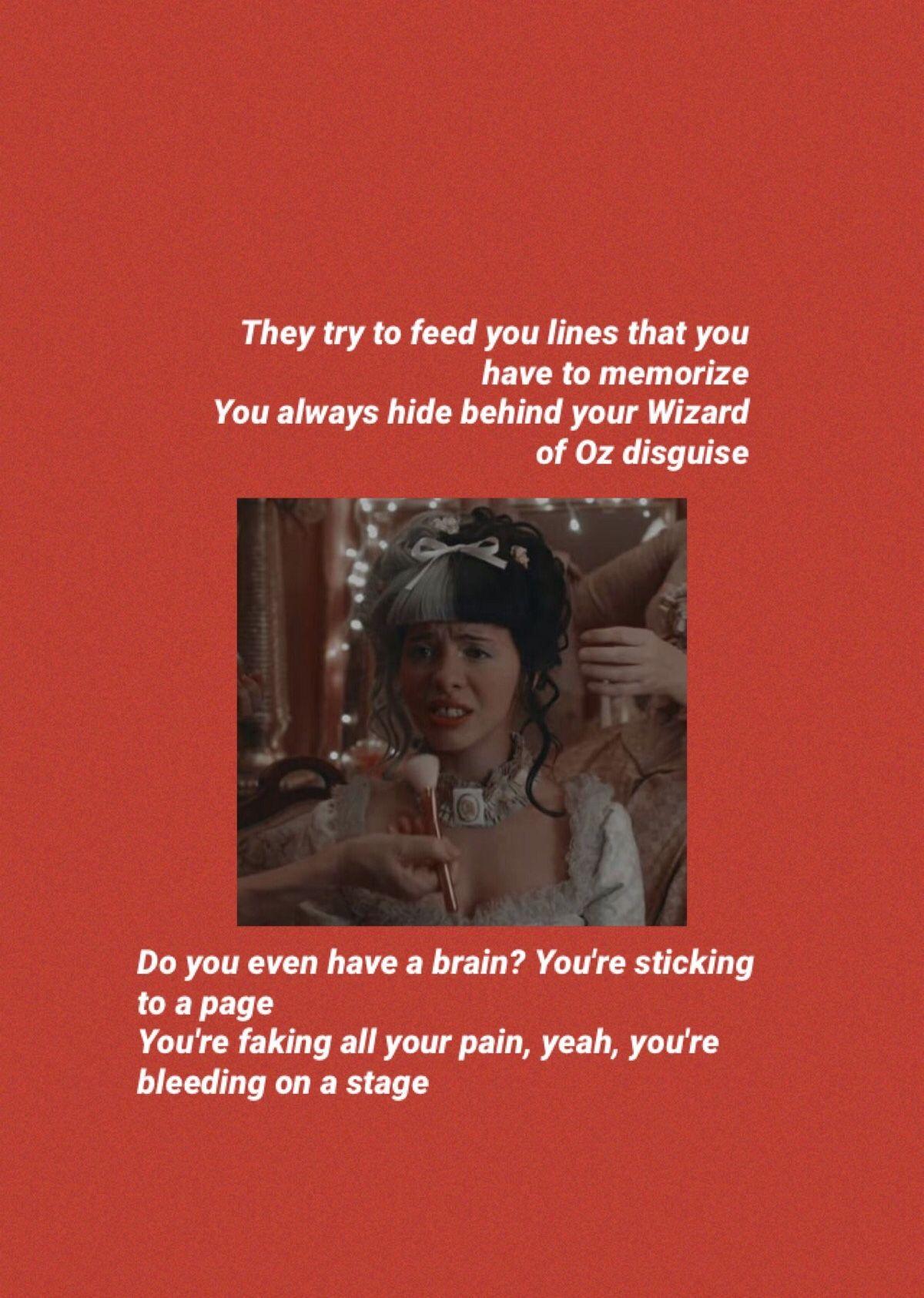 Drama Club Melanie Martinez Lyrics Melanie Martinez Lyrics Melanie Martinez Songs Melanie Martinez