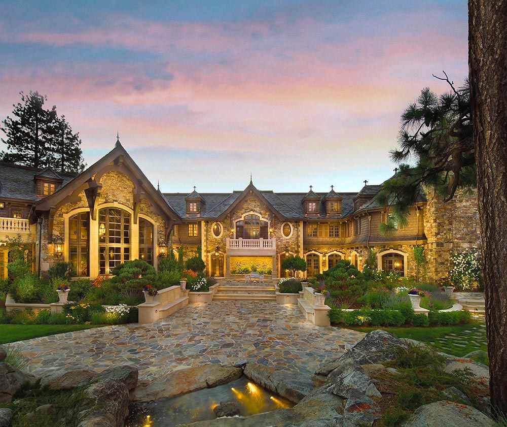Tranquility Lake Tahoe Most Expensive Home Mega Mansions