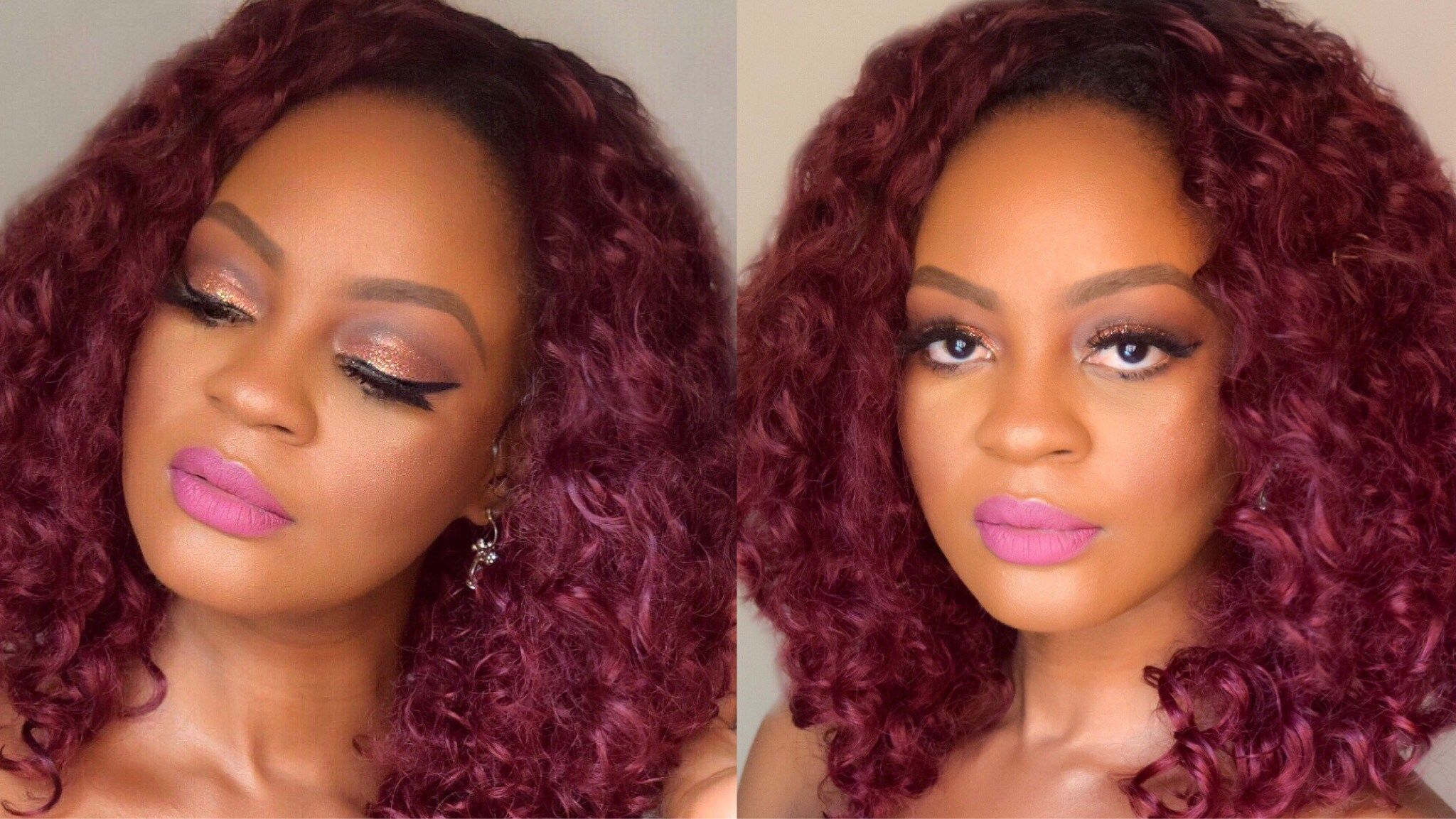 Photo of Glittery Bronze Eye Makeup Tutorial – Glam O' Sphere