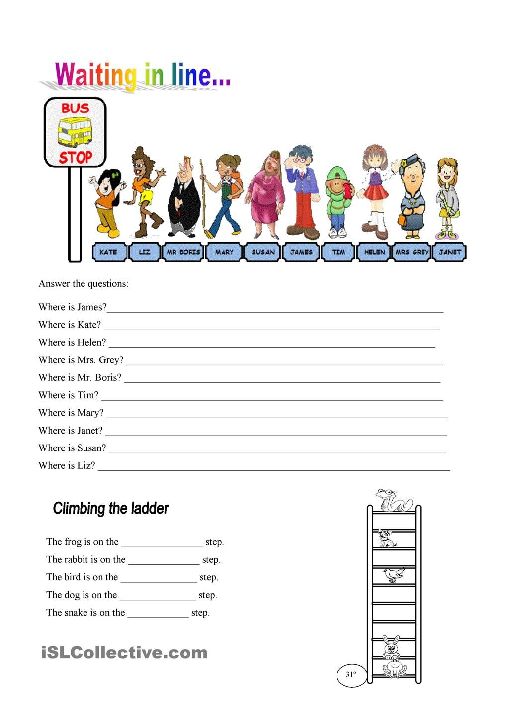 Ordinal numbers exercises | Recipes to Cook | Pinterest