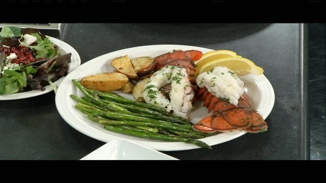 Lobster tail is the star of a healthy romantic dinner idea from lobster tail is the star of a healthy romantic dinner idea from home cuisine forumfinder Gallery