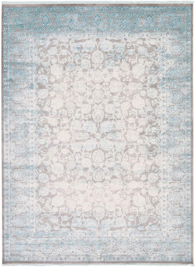 Bridgeport Home Norston Nor3 Blue 9 X 12 Area Rug Products In