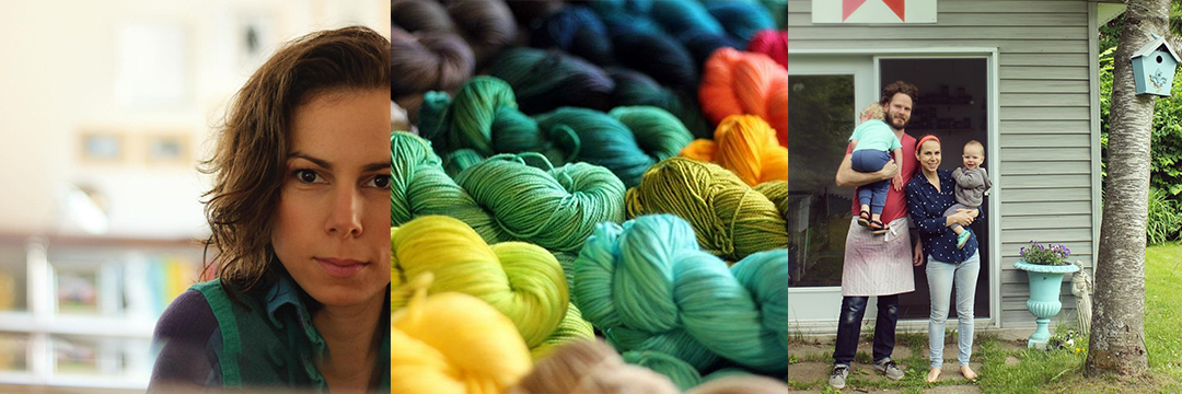 Episode 68: Tanis Lavallee - Leaps, married operation, motherhood and Tanis Fiber Arts