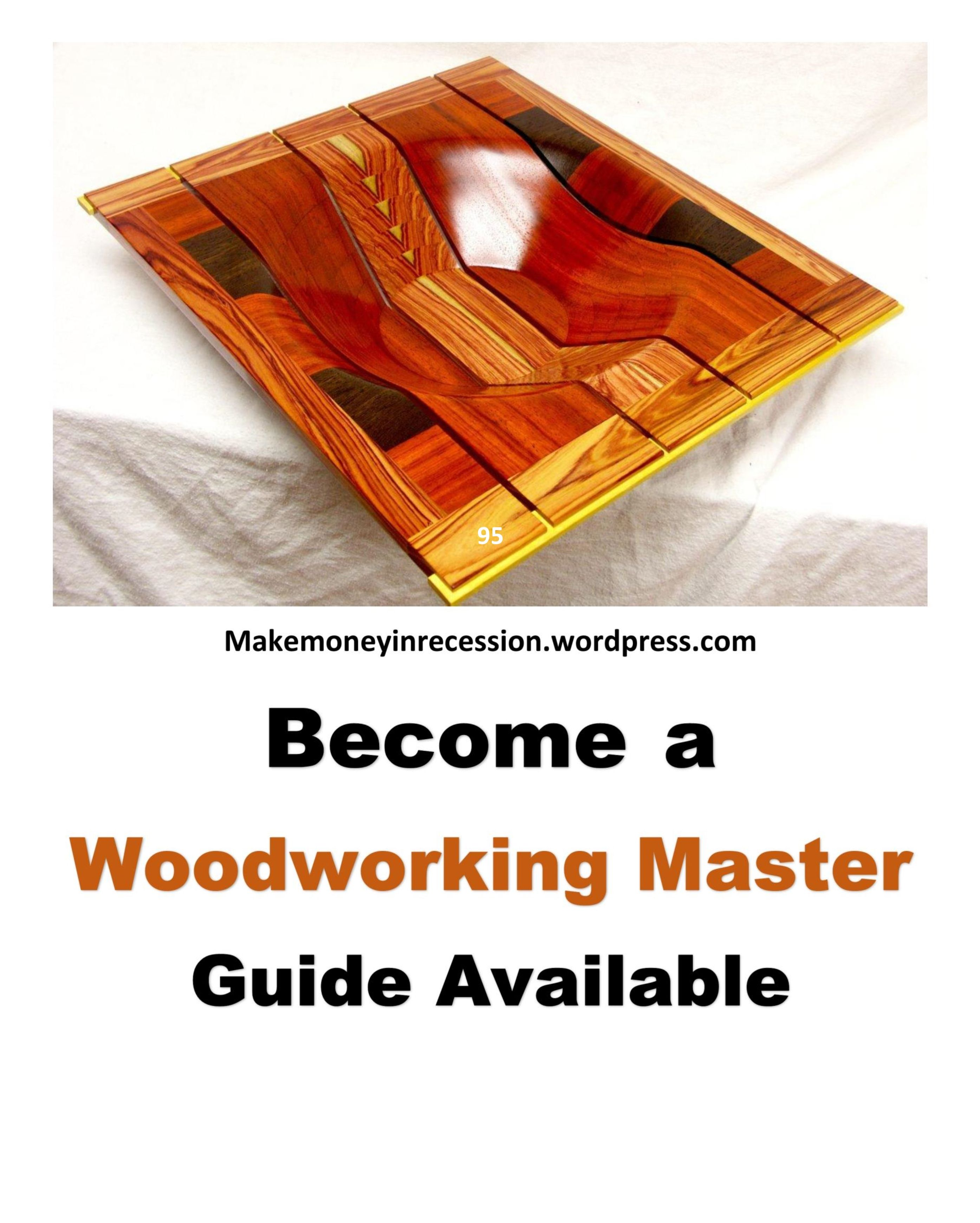 How To Start Your Own Business From Woodworking Projects