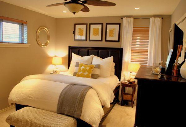 Kleine Schlafzimmer kreativ gestalten- 45 Ideen für die modernen ...