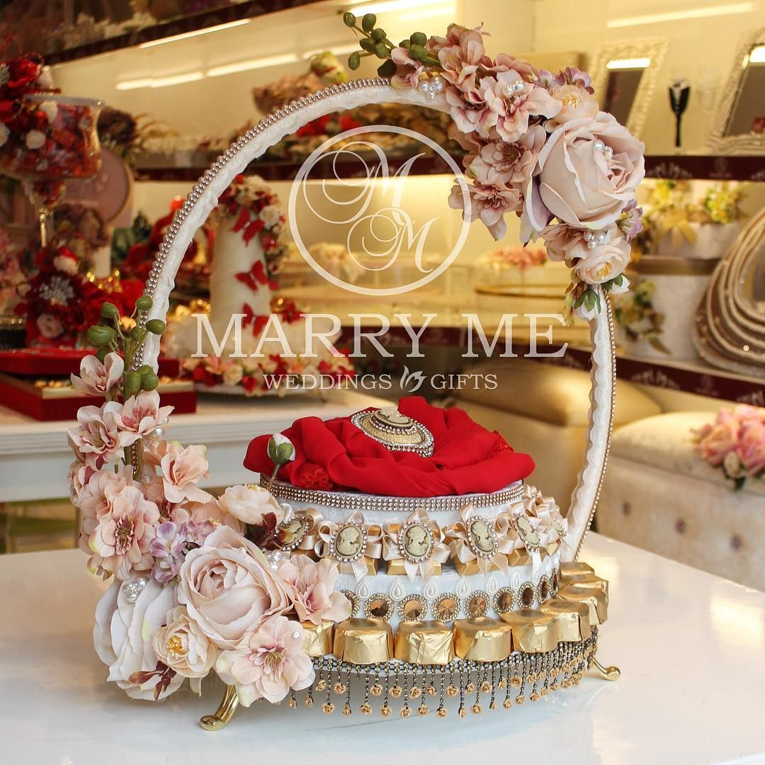 Unique Wedding Gift Basket Ideas: Marry Me (@marry_me_baku) On