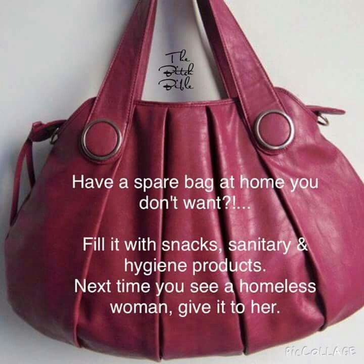 Help A Homeless Woman Blessing Bags Homeless Bags Homeless Care Package