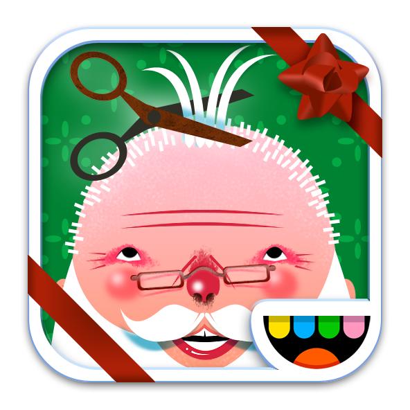 The Toca Hair Salon Christmas Gift icon by Toca Boca. http