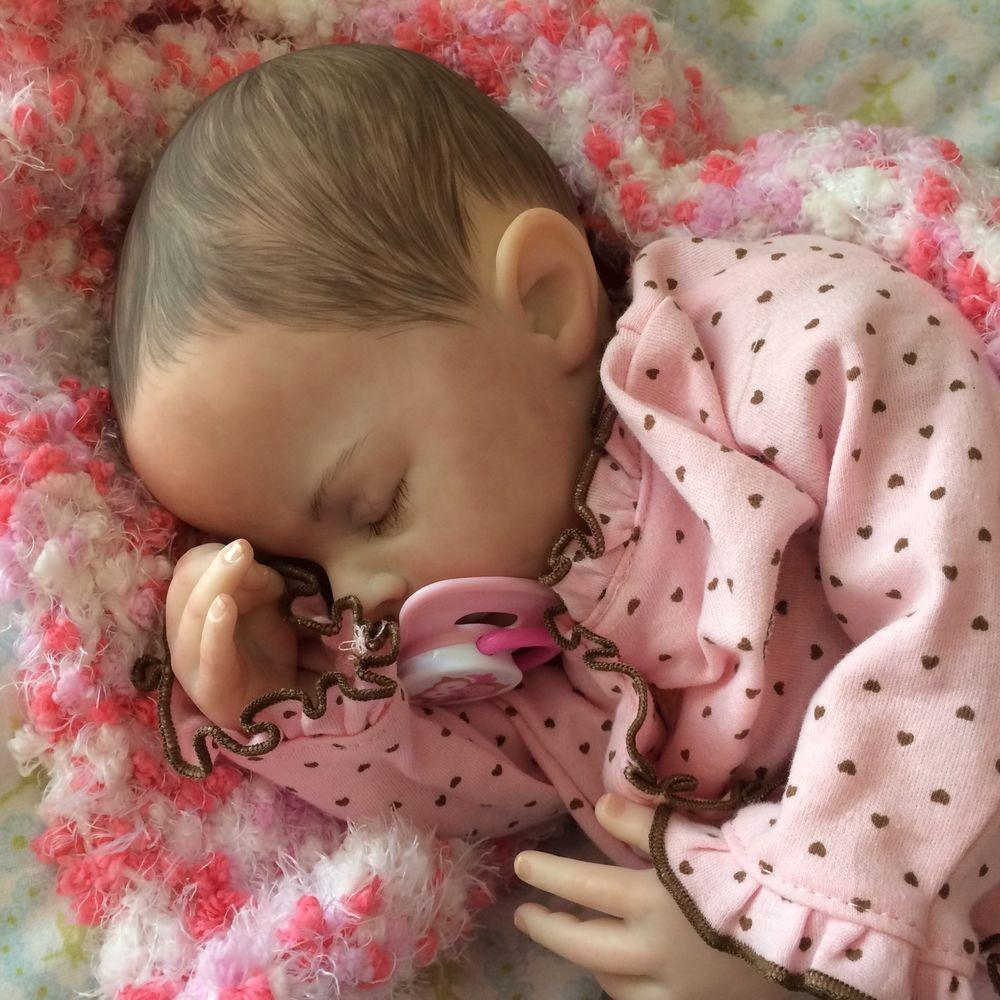 Beautiful Reborn Baby Girl Sadie Sculpted By Marissa May