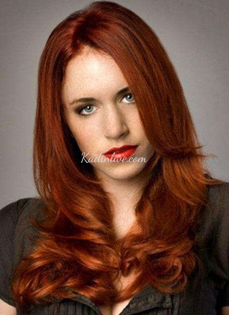 Acik Kestane Kizil Sac Rengi 2016 Kadinlive Com Chestnut Hair