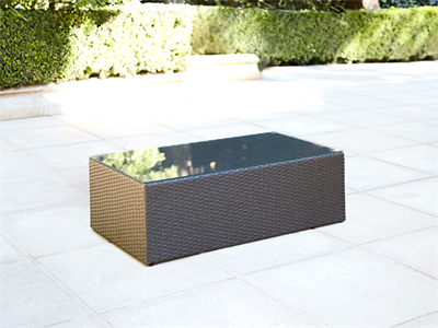 Mimosa Waiheke Rectangular Coffee Table Outdoor, Outdoor