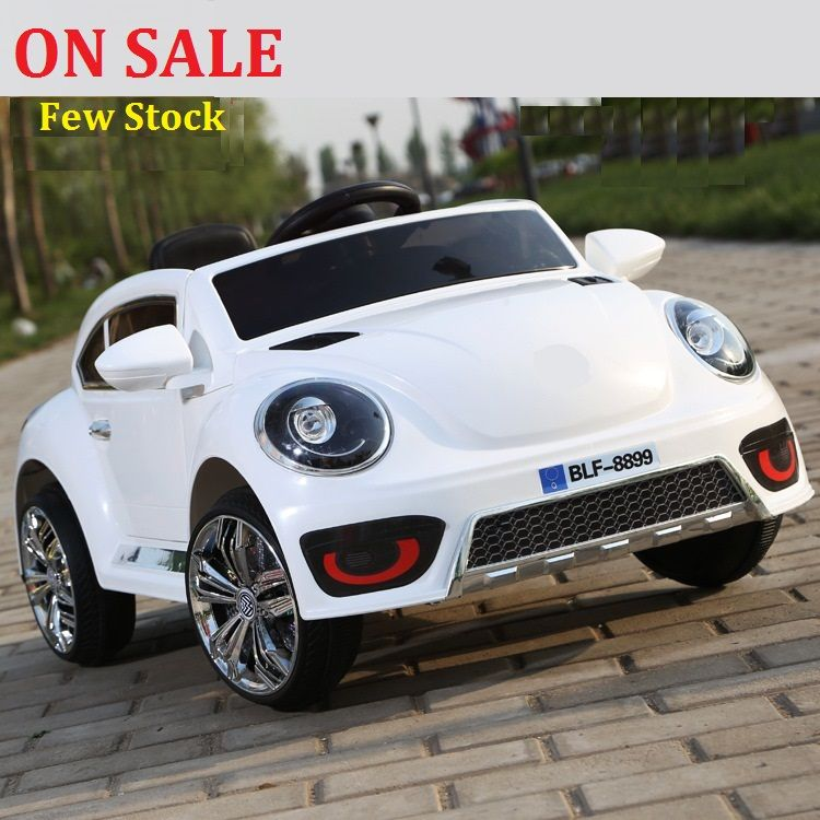 25 Off The New Volkswagen Beetle Children Electric Car Double Drive Wheel Swing Four Luminous Baby Stroller Ca