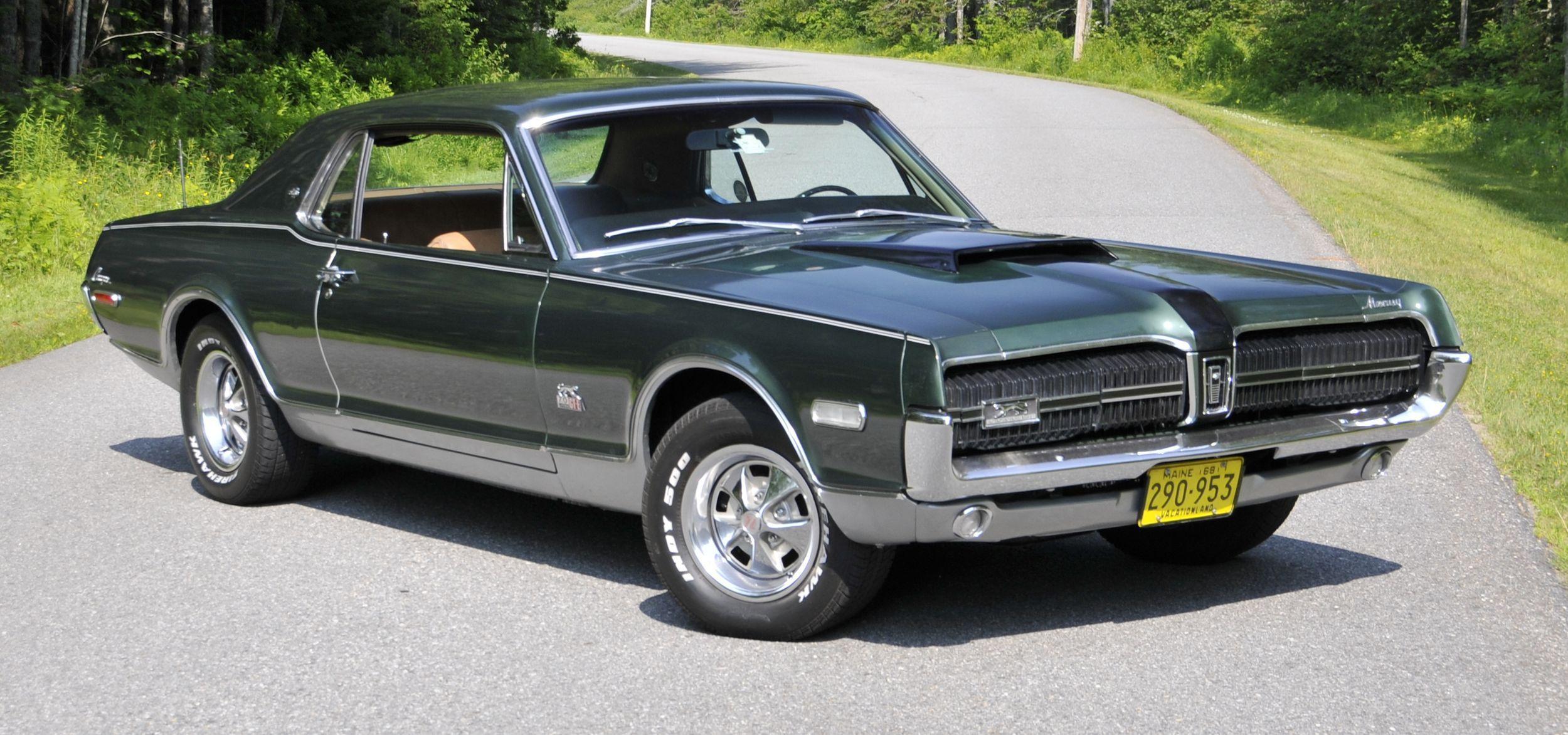 Rare cat spotted in Maine: a 1968 Mercury Cougar XR-7 GT-E | Cars ...