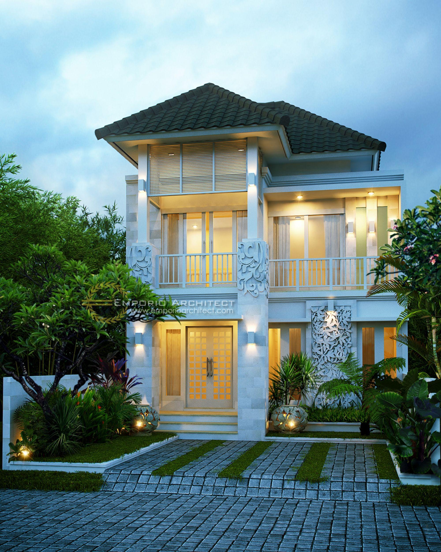 Jasa Arsitek Desain Rumah Ibu Dwidina | small house design | Pinterest