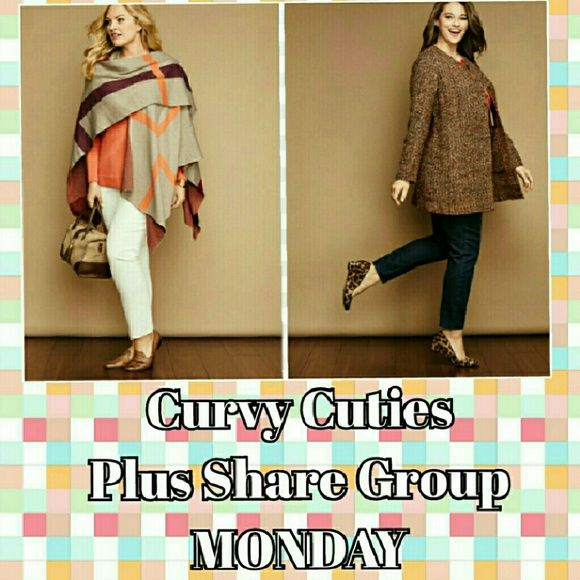 4/25 Plus Size Share Group: Curvy Cuties ~Sign up before 5pm EST  ~Share 5 plus items from each closet   ~Sign out when finished, prior to 3am your time  ~Share items more than once if closet has fewer than 5 plus items  ~Plus is sizes XL and up or 14 and up  ~Larger shoes/bras/lingerie also allowed Pandora Accessories