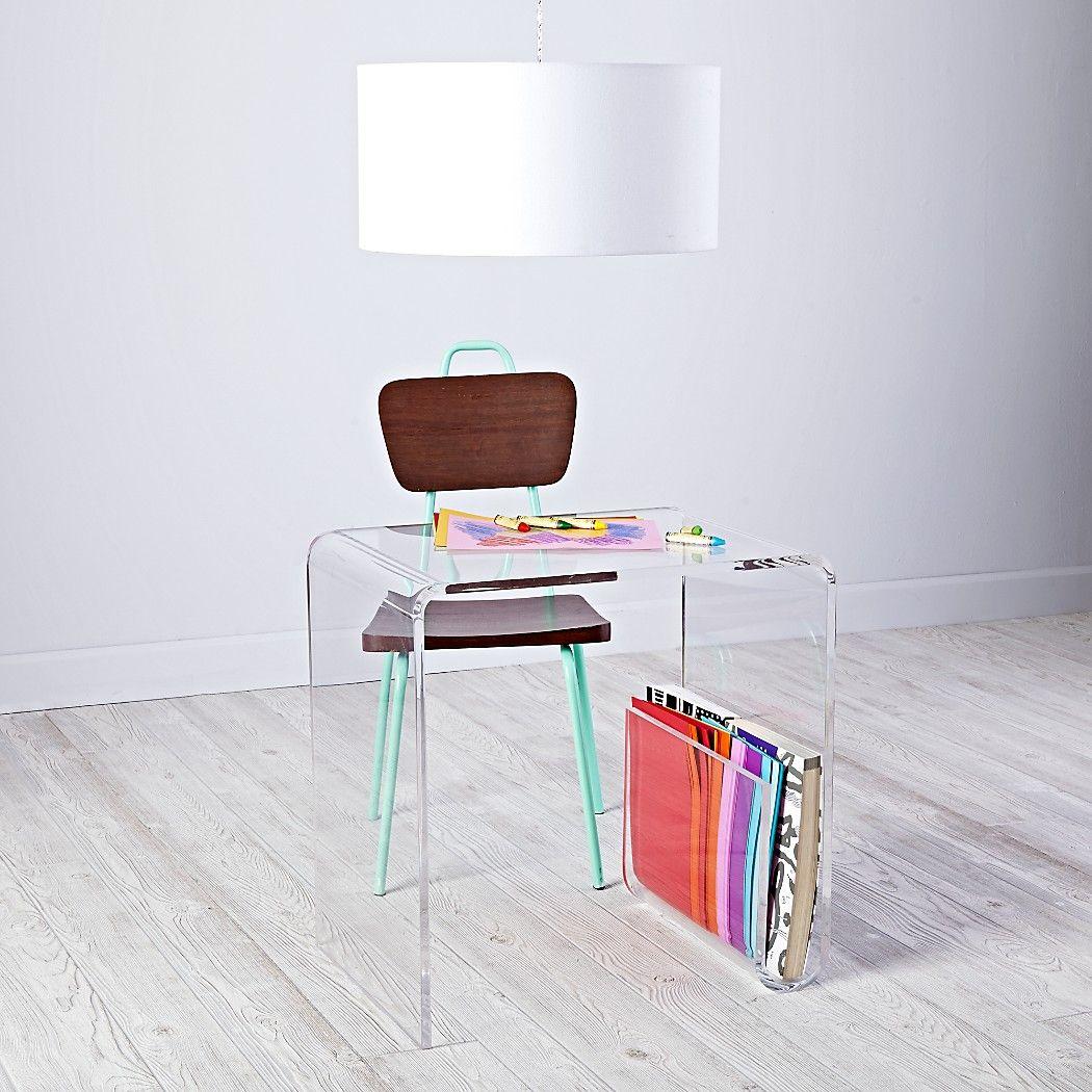 clear space acrylic desk toddler desk