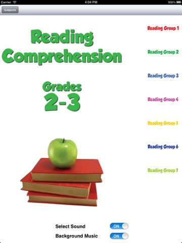 Reading Comprehension Grades 2 3 By Basic Skills Interactive Llc