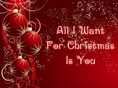 All I Want For Christmas Is You With Lyrics Mariah Carey Youtube Mariah Carey Lyrics Mariah Carey Youtube