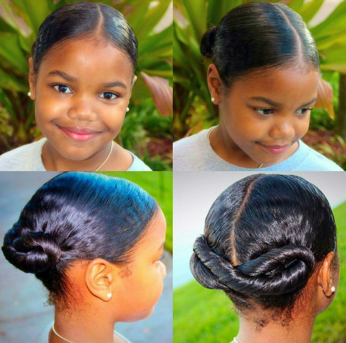 Adorable Protective Styling | Kids hairstyles, Natural ...