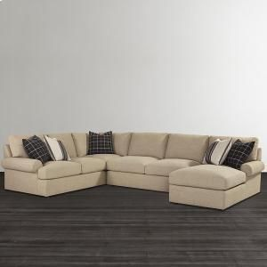 2607lsectl In By Bett Furniture New Bedford Ma Sutton Large L Shaped Sectional
